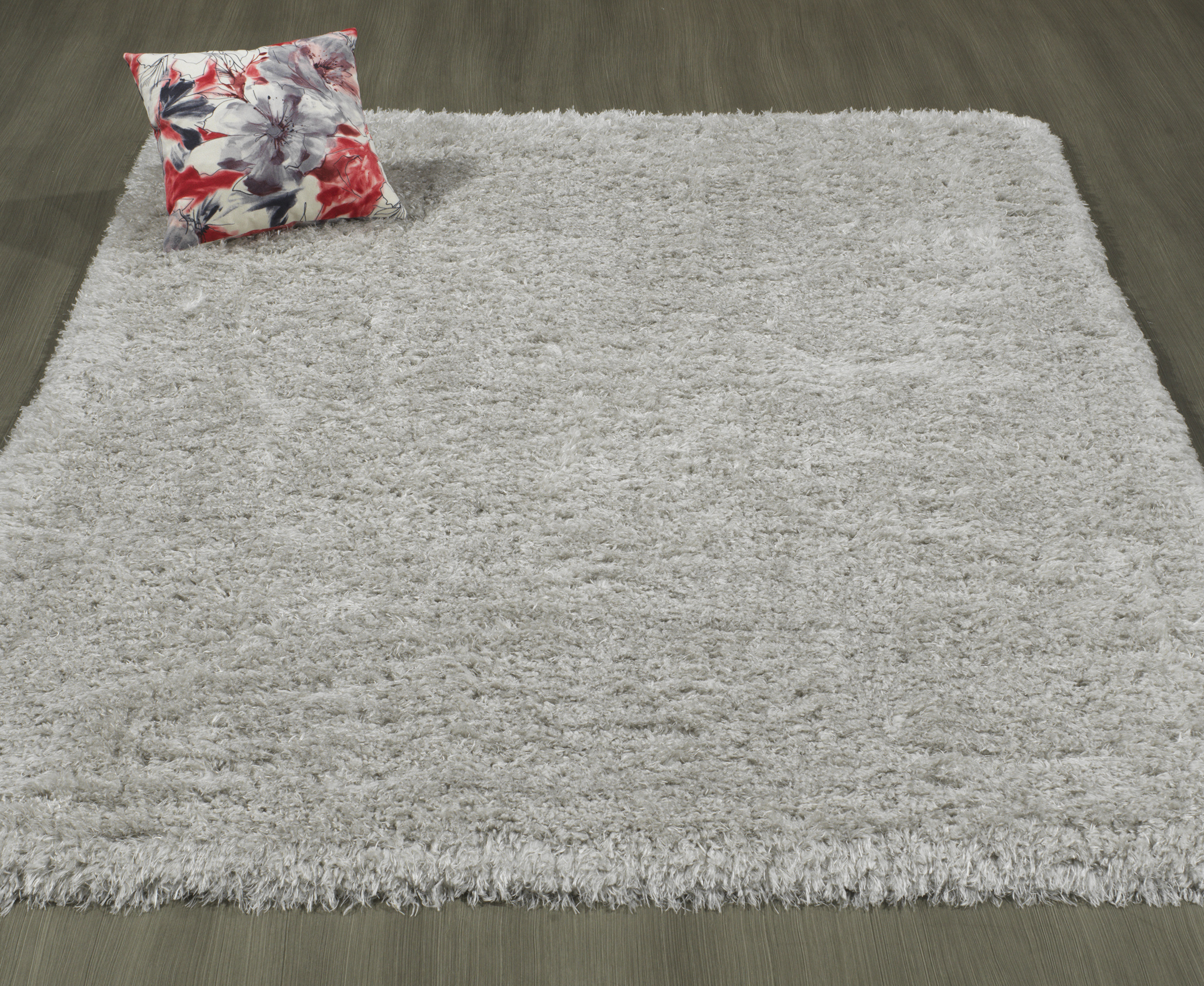 Ottomanson Pure Fuzzy Flokati Soft High Pile Faux Sheepskin Area or Runner Rugs by Ottomanson