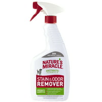 Nature's Miracle Dog Stain & Odor Remover with Enzymatic Formula Spray, 24 oz