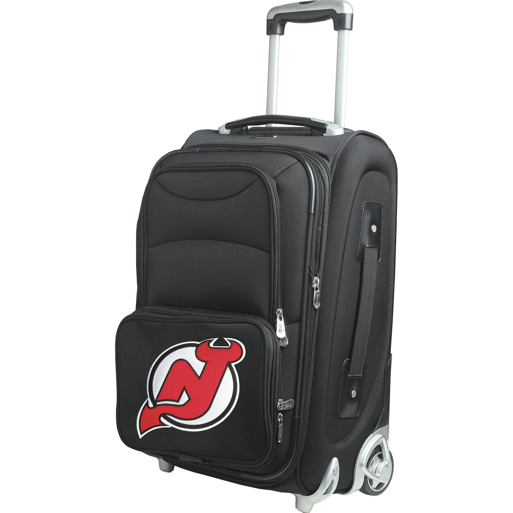 """Denco NHL 21"""" Carry-On, New Jersey Devils by Mojo Licensing"""