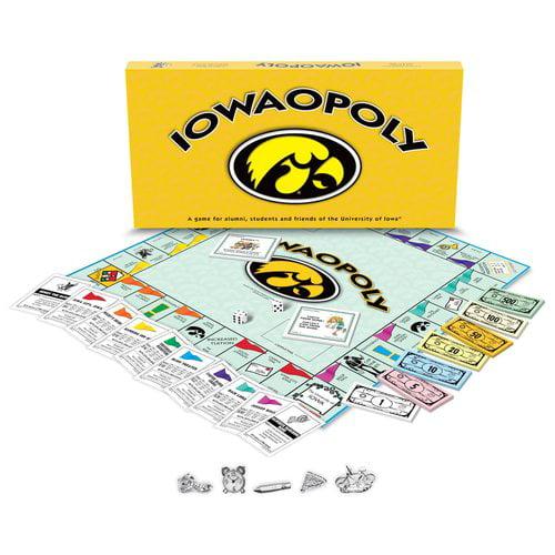 University of Iowa - Iowaopoly Board Game