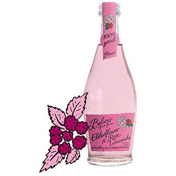 Belvoir Beverages, Elderflower & Rose, 8.4 Oz