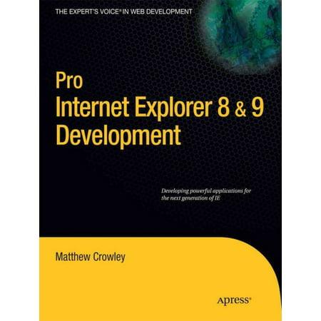 Pro Internet Explorer 8   9 Development