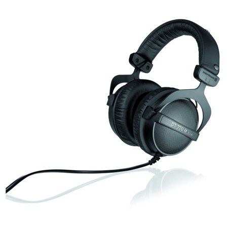 Beyerdynamic DT 770 M 80 Closed Drum and FOH Headphones, Over-Ear, 5-30,000 Hz Frequency Response, 80 Ohms Impedance