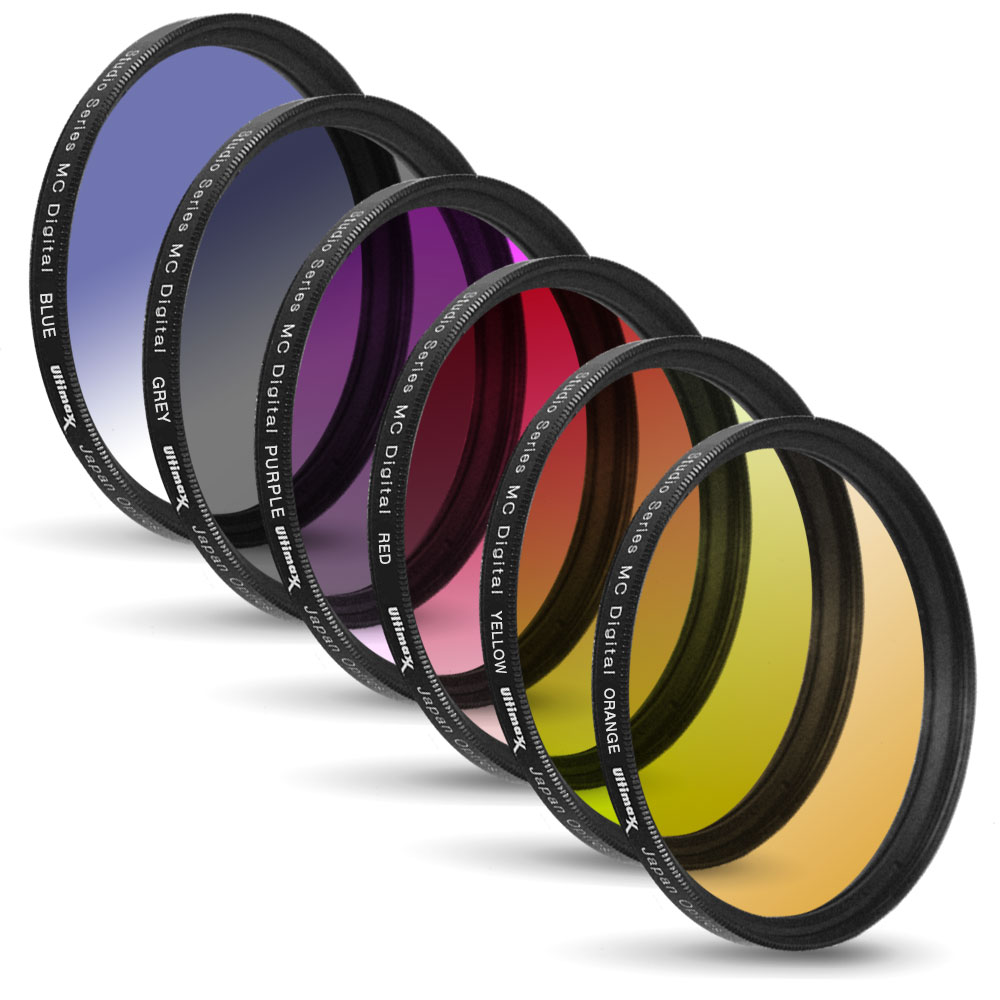 58MM Multicoated Graduated 6 Piece Filter Kit