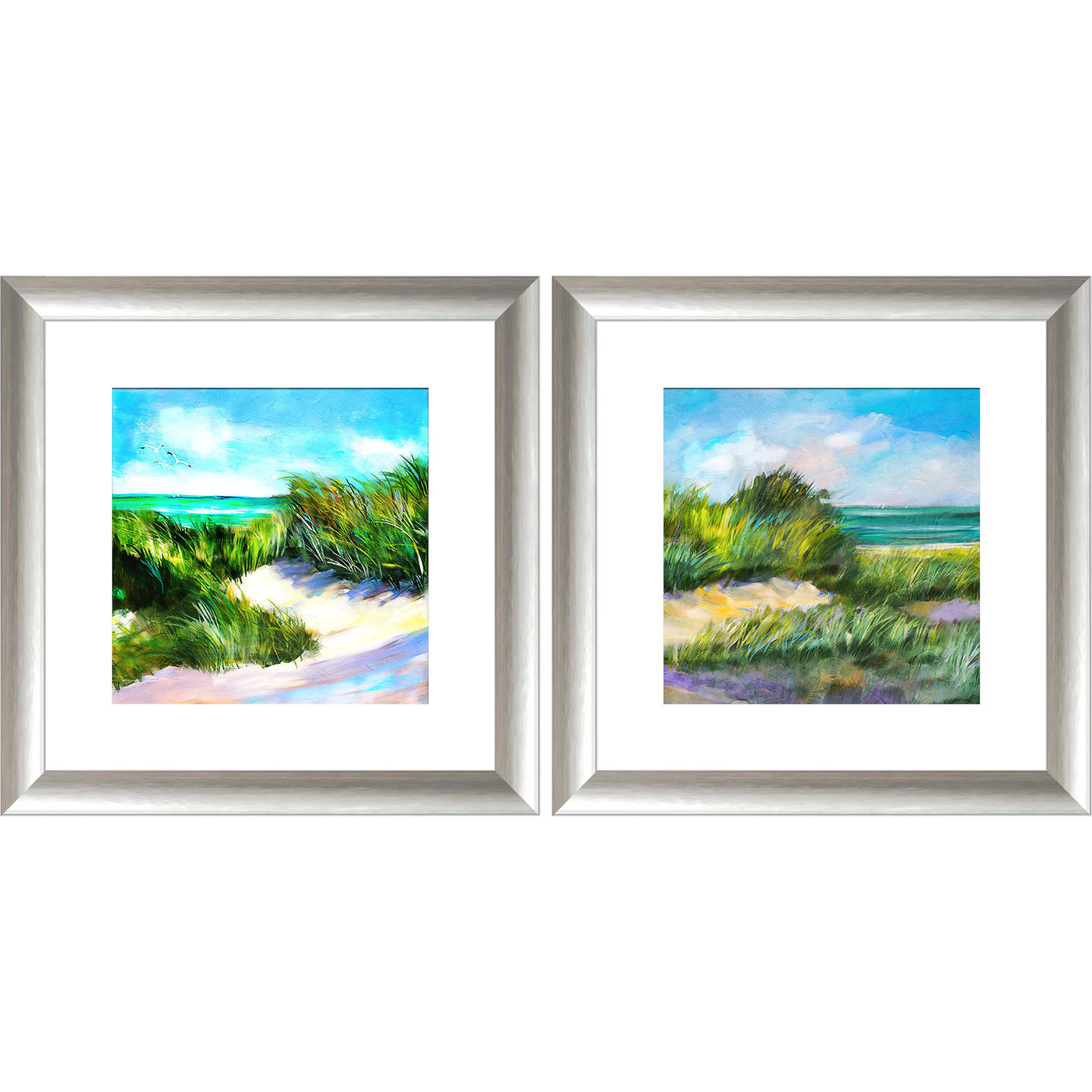 """Blue Grass Breeze 20.5"""" x 20.5"""" Wall Art"""