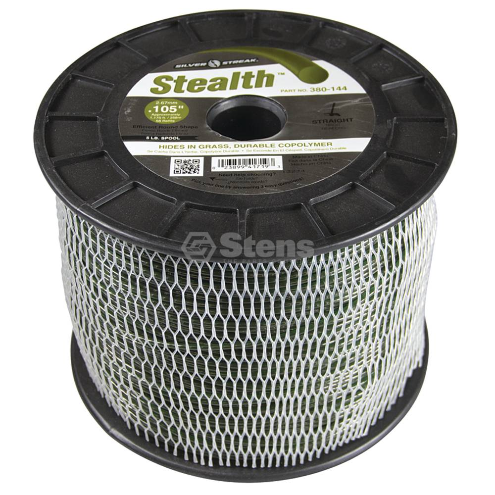 Stens 380-144 Stealth Trimmer Line Fits Model .105 5 Lb. Spool