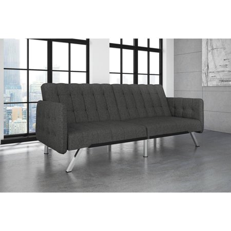 DHP Emily Sofa Bed, Grey