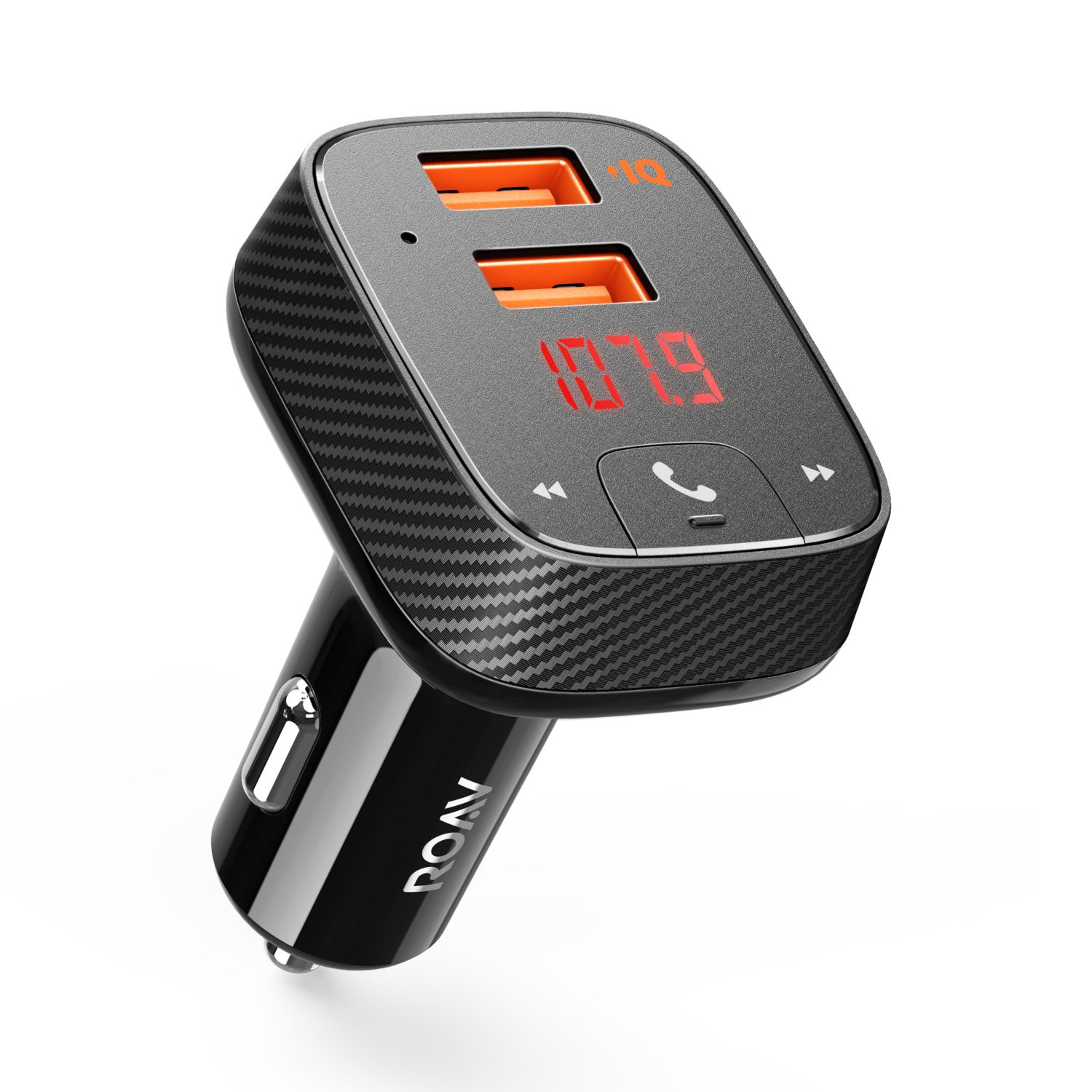 Roav by Anker, SmartCharge with Bluetooth FM Transmitter & Car Locator