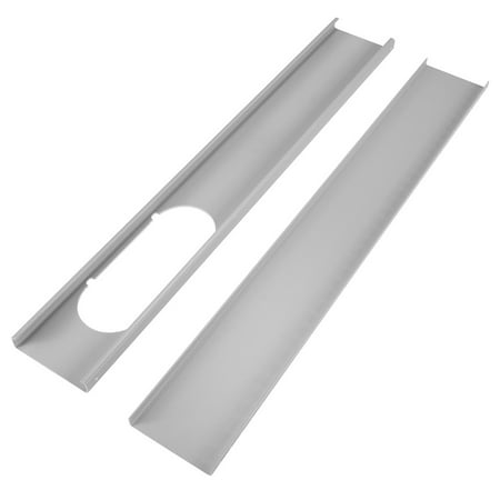 2Pcs 130CM/51Inches Adjustable Window Slide Kit Plate Spare Parts For Portable Air Conditioner
