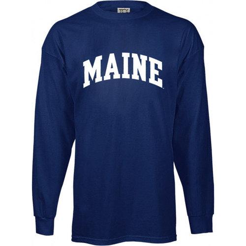 NCAA - Maine Blackbears Kids/Youth Perennial Long Sleeve T-Shirt