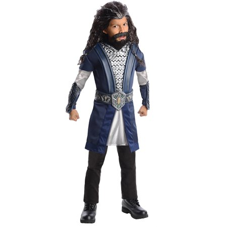 Hobbit Thorin Child Halloween Costume - Hobbit Costumes For Kids