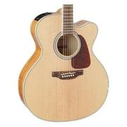 Takamine GJ72CE-NAT Jumbo Cutaway Acoustic-Electric Guitar, Natural
