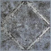 Achim Nexus Metallic Marble Diamond 12x12 Self Adhesive Vinyl Floor Tile - 20 Tiles/20 sq. ft.