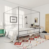 Novogratz Marion Canopy Bed, Multiple Sizes and Colors