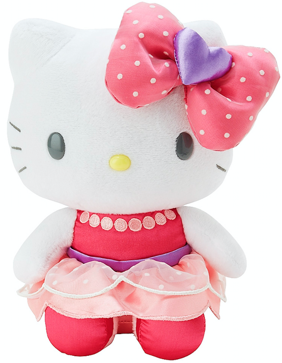 Hello Kitty 8 IN PLUSH:GIRLY PASTEL by Sanrio