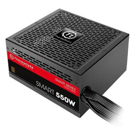 Thermaltake Smart 550W 80+ Bronze 12V ATX Computer Desktop PC Power Supply -
