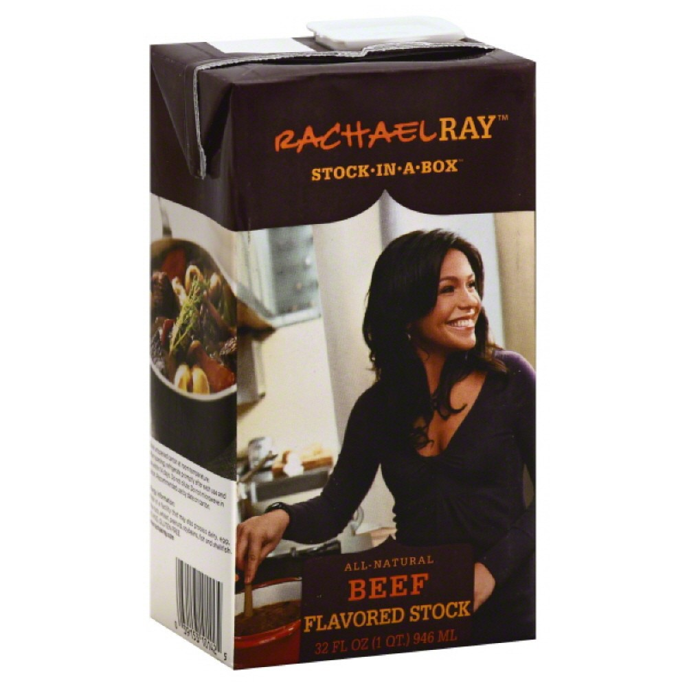 Rachael Ray Stock-in-a-Box Beef Flavored Stock, 32 fl oz