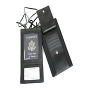 Security Passport Wallet - Black