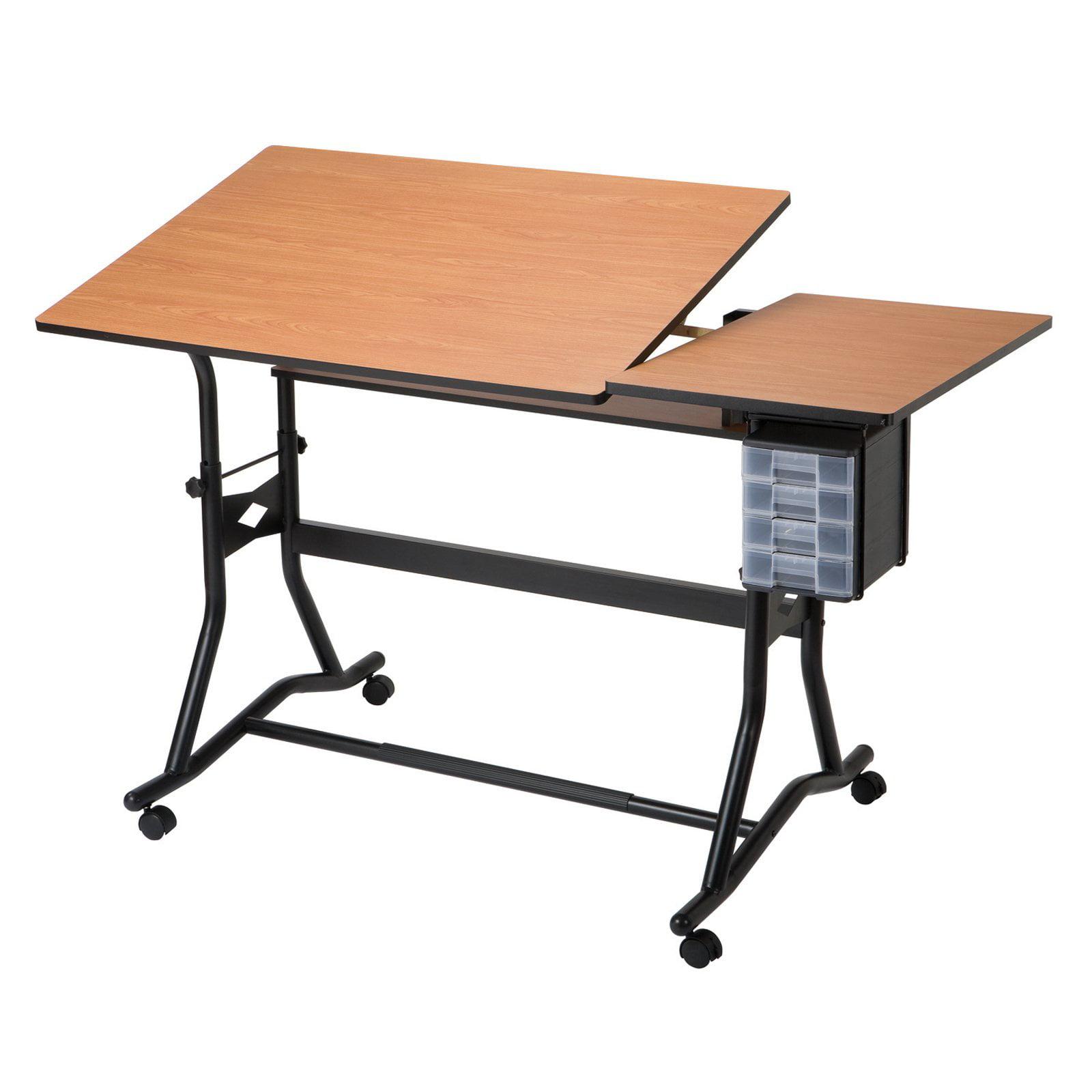 Alvin CraftMaster III Split Top Drafting Table Walmartcom - Electric drafting table