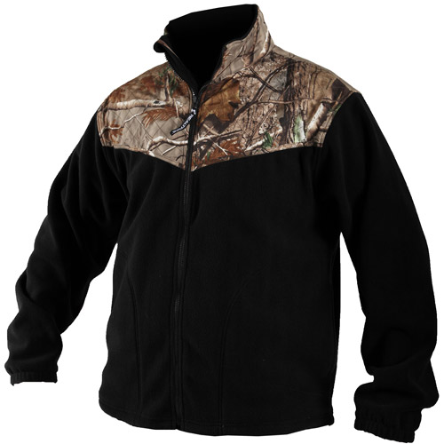 Mossy Oak Apparel Camo Accented Jacket
