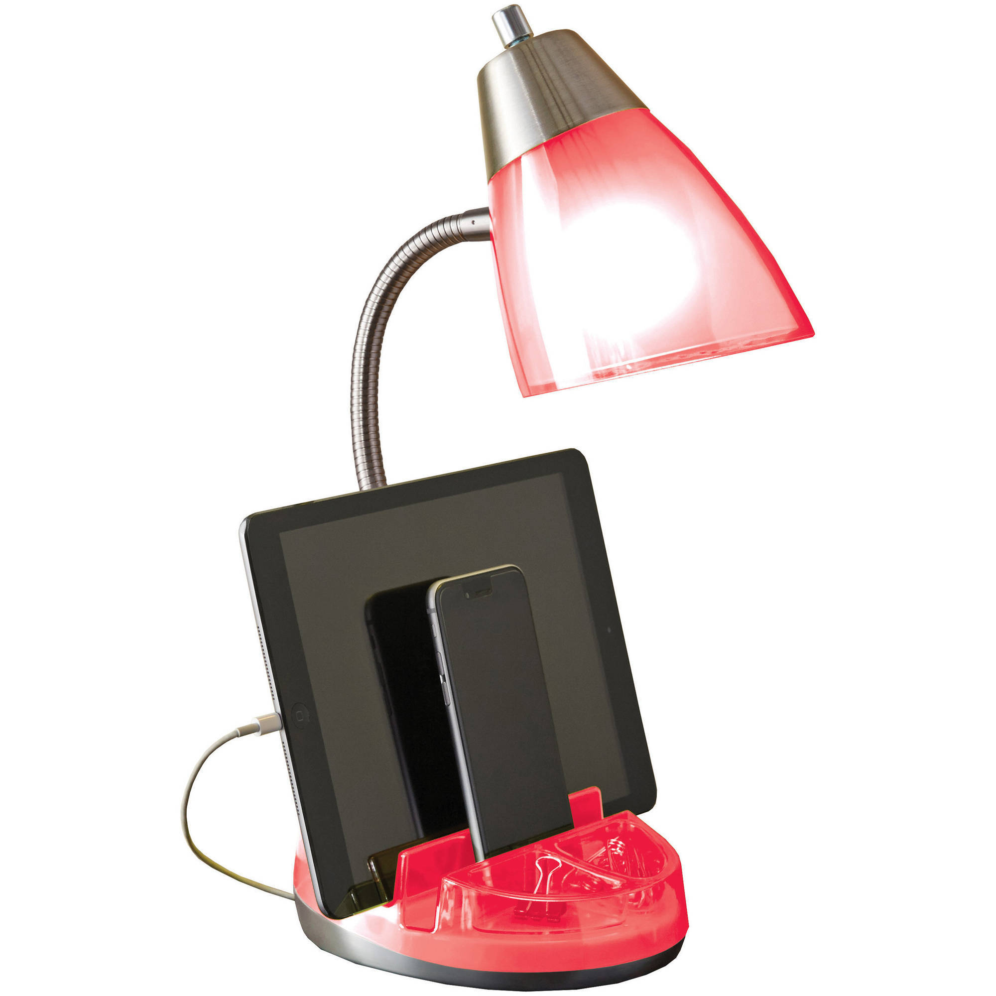 Mainstays Organizer Task Lamp with Bulb