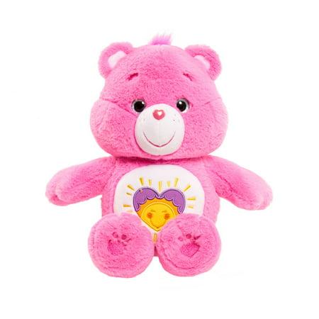 Care Bear Large Plush - Shine Bright Bear - Care Bears Cheer Bear