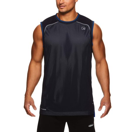 AND1 Men's Mesh Muscle Tank, Up to 3XL