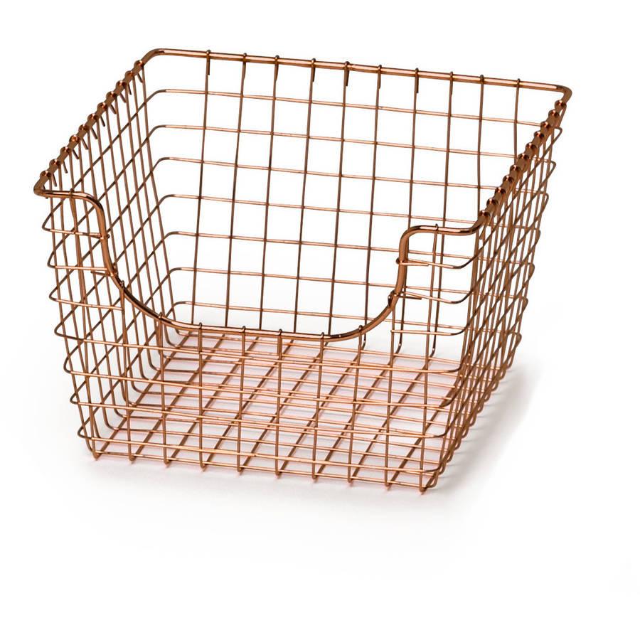Spectrum Medium Scoop Basket, Copper