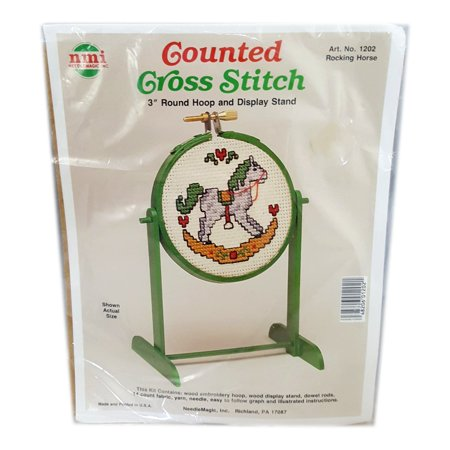 Horse Cross Stitch - Needlemagic Counted Cross Stitch