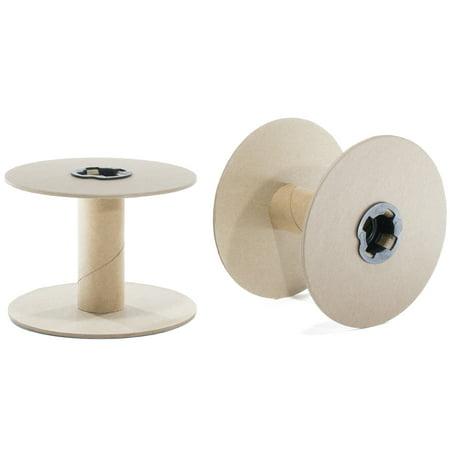 """Empty 3.5"""" Cardboard Spool – Spool Kit – Multiple Pack Sizes - Cardboard Art Projects"""