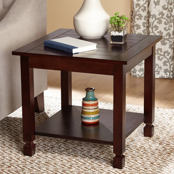 Zenith End Table, Espresso