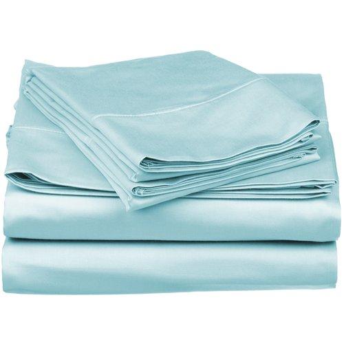 Eider & Ivory Bridgecliff Combed 530 Thread Count Premium Cotton Solid Sheet Set