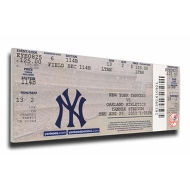 Thats My Ticket TMT-BNYYMT3GS New York Yankees 3 Grand Slams Mega Ticket
