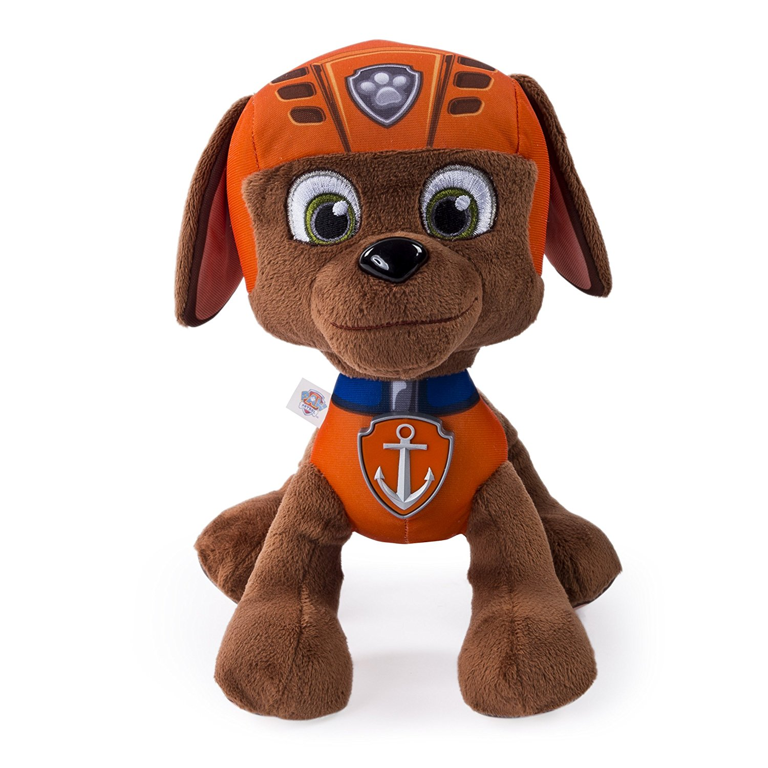 Paw Patrol, Real Talking Zuma Plush, Now you can bring home your favourite paw patrol pup... by Nickelodeon