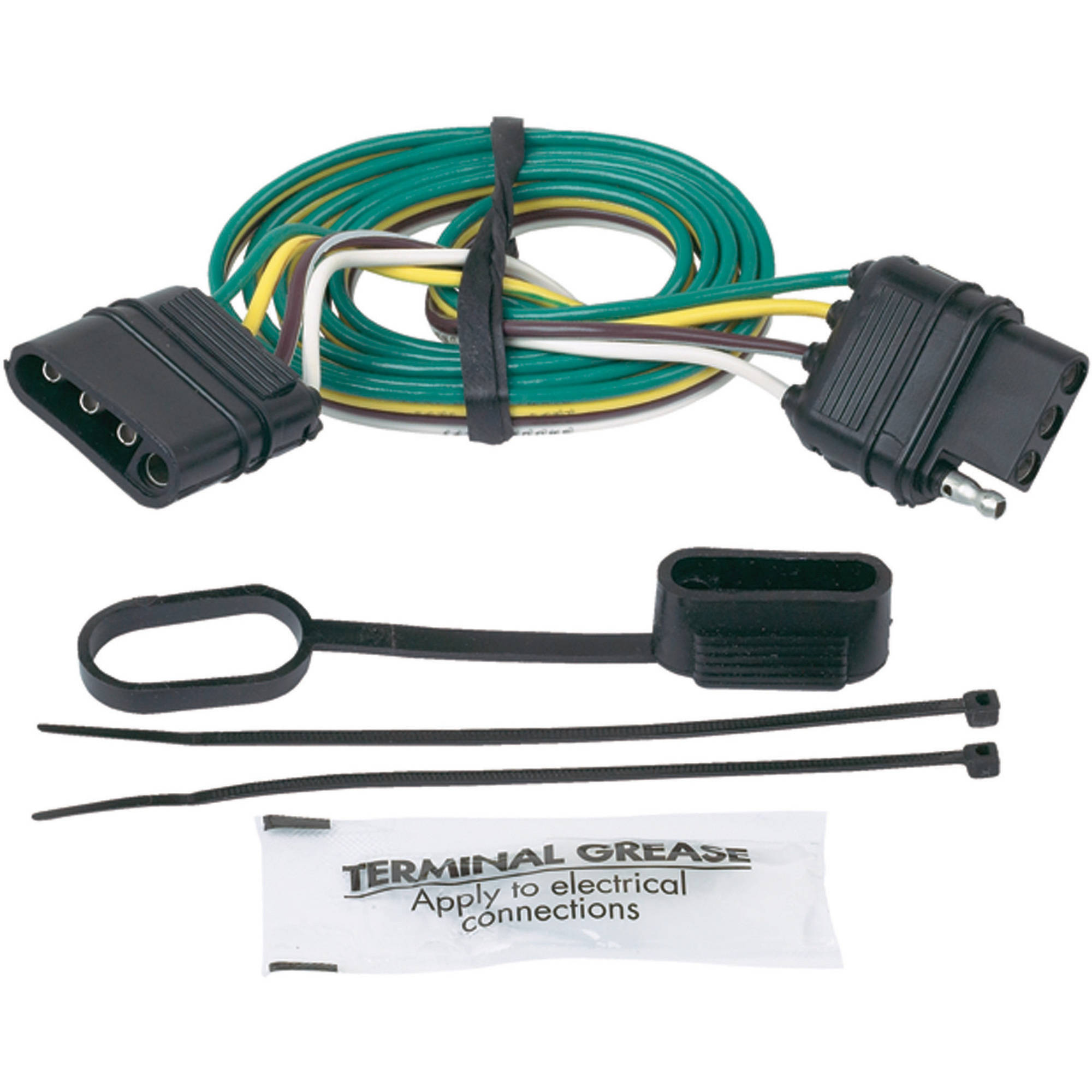 Trailer Wiring Hopkins 40495 Diagram Brake Controller Towing Harnesses And Kits Hitches Rh Walmart Com Harness