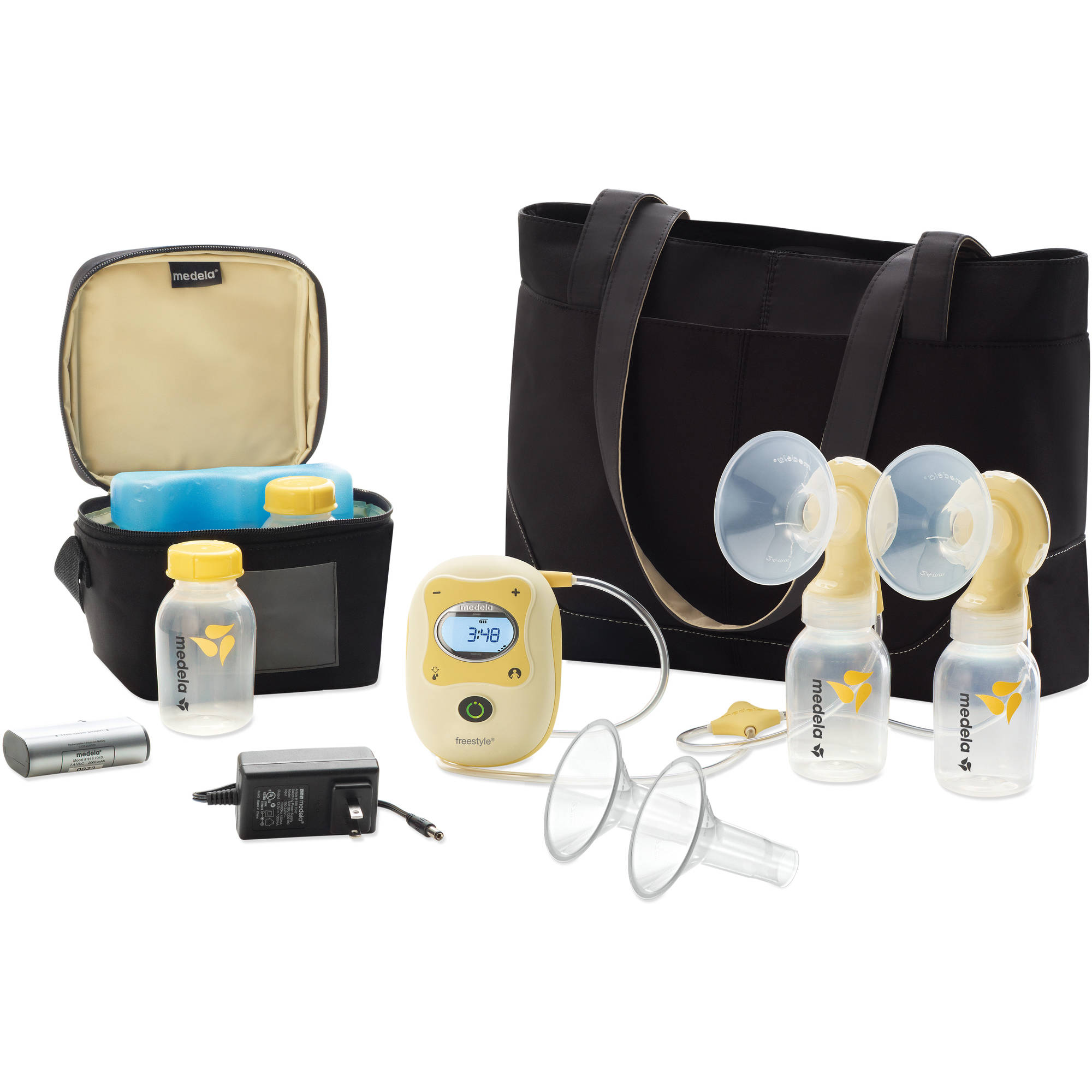Medela Freestyle Double Electric Breastpump Deluxe Set