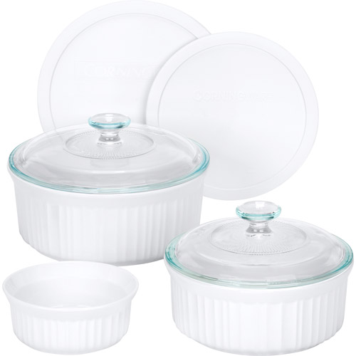 Dinnerware Corningware 7 - piece French White Bake And Serve Set