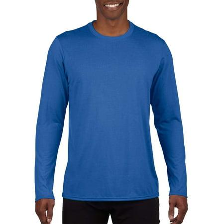 Gildan Mens AquaFX Performance Long Sleeve T-Shirt