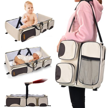 Baby Bassinets & Cradles Just Portable Baby Crib Nursery Travel Folding Baby Bed Bag Infant Toddler Cradle Mul And Digestion Helping