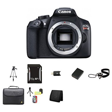 Canon Eos Rebel T6 Dslr Camera Body International Version No Warranty 64gb Memory Cap Keeper Memory Card Wallet Memory Card Reader Camera