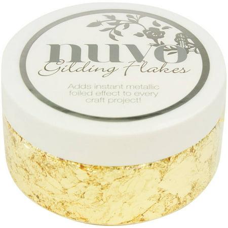 Gold Mica Flake (Nuvo Gilding Flakes, 6.8 oz )