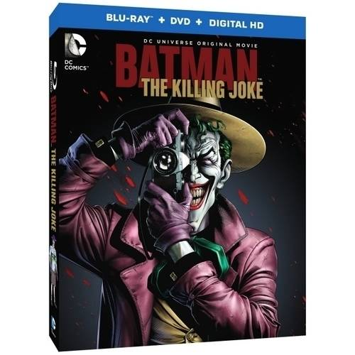 Batman: The Killing Joke (Blu-ray + DVD + Digital HD With UltraViolet) (With INSTAWATCH)