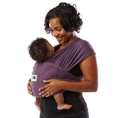 Baby K'tan ORIGINAL Baby Carrier - Eggplant - XS