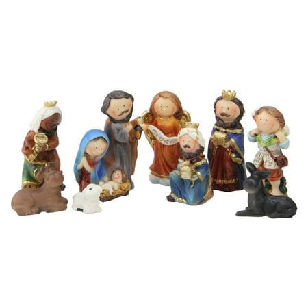 Child's Nativity Set (Northlight 9 Piece Durable Childrens First Nativity)