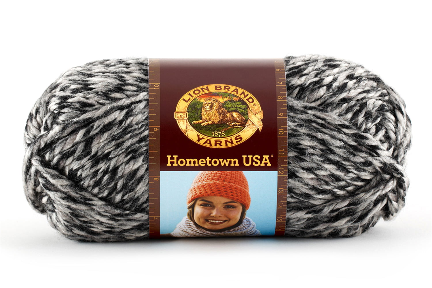Pack of 3 skeins Anchorage Ice Lion Brand Yarn 135-216 Hometown USA Yarn