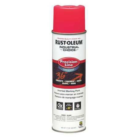 RUST-OLEUM Line Marking Paint,17 oz.,Fl Pink - Rust Oleum Marking Paint