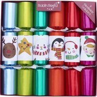 Robin Reed English Holiday Christmas Crackers, Pack of 6 - Finger Puppets