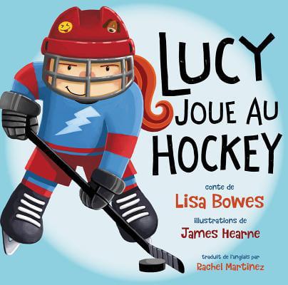 Lucy Joue Au Hockey