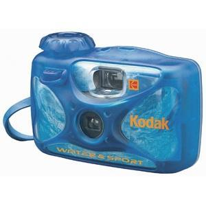 Kodak 8004707-k Water & Sport Waterproof [50/15 M] 35mm One-time-use Disposable Camera [iso-800] (8004707k)