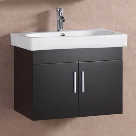 belvedere 28 in modern floating single bathroom vanity. Black Bedroom Furniture Sets. Home Design Ideas